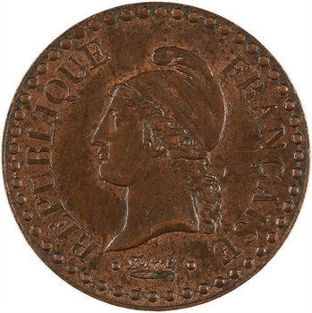 IIe République, un centime Dupré, 1851 Paris
