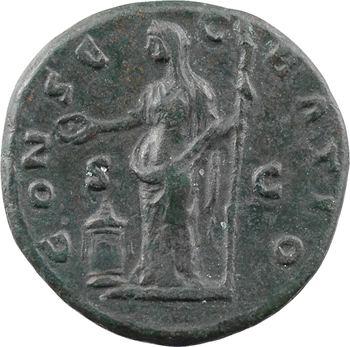 Divine Faustine Mère, as, Rome, après 141