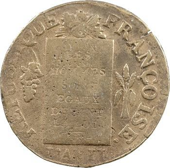 Convention, sol aux balances, 1793 Nantes