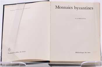 Whitting (P. D.), Monnaies byzantines, Bibliothèque des Arts, Fribourg 1973