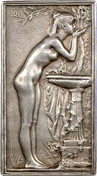 Daniel-Dupuis (J.-B.) : la Source ou Chloé à la vasque, s.d. Paris