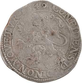Pays-Bas, Utrecht, écu au lion (daalder), 1649 Utrecht