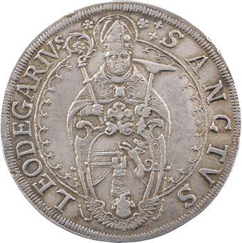 Murbach et Lure (abbaye de), Léopold-Guillaume, thaler, Ensisheim