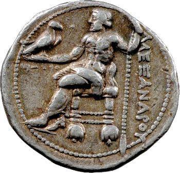 Macédoine, Alexandre le Grand, tétradrachme, Aké, 313-312 av. J.-C.