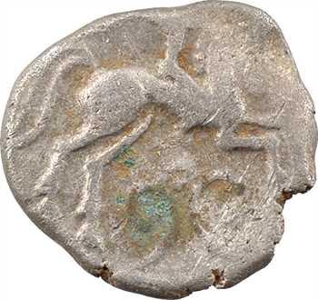 Pictons, drachme au cavalier ailé, c.80-60 av. J.-C