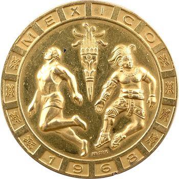 Mexique, médaille en or, Jeux Olympiques de Mexico, 1968