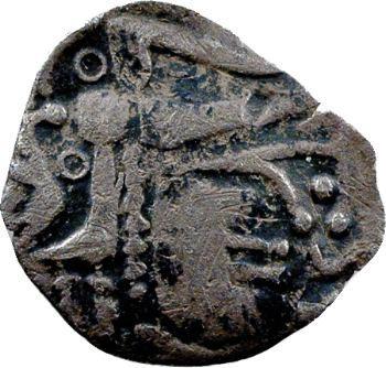 Ambiens, denier lamellaire au cheval et à l'hippocampe, c.60-50 av. J.-C.