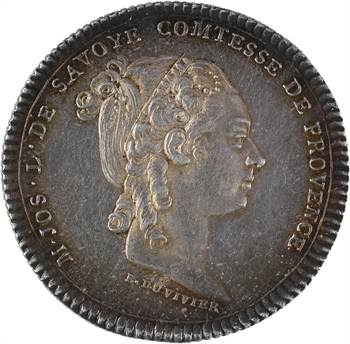 Provence (comté de), Marie-Josèphe de Savoie, comtesse, s.d