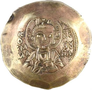 Manuel Ier, aspre d'électrum, Constantinople, 1143-1180