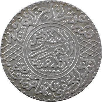 Maroc, Abdül Aziz I, 5 dirhams, AH 1320 (1902) Berlin