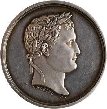Premier Empire, Napoléon Ier, le Musée Napoléon, salle du Laocoon, détournée en médaille de mariage, s.d. (c.1804/1812) Paris