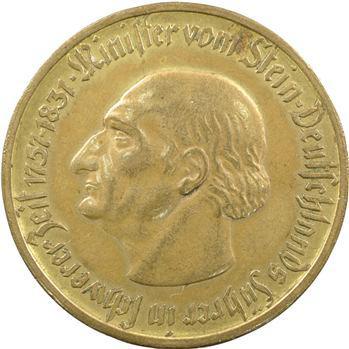 Allemagne, Westphalie (province de), 10000 mark, 1923