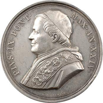 Vatican, Pie IX, monument aux victimes de Mentana érigé à Campo Verana, An XXIV (1867) Rome