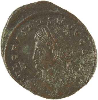 Crispus, nummus, Trèves, 321