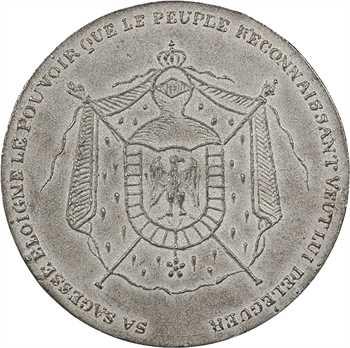 IIe République, LNB, distribution de drapeaux, 1852 Paris