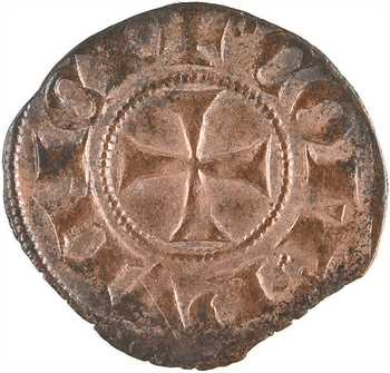 Provence (comté de), Charles II, obole coronat, s.d. (après 1298)