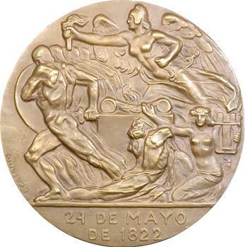 Équateur, Centenaire de la bataille de la Pichincha, 1922