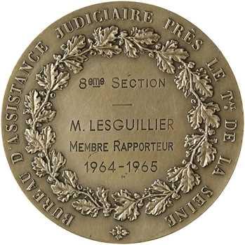 Ve République, Bureau d'assistance judiciaire du tribunal de la Seine, par Daniel-Dupuis, 1964-1965 Paris