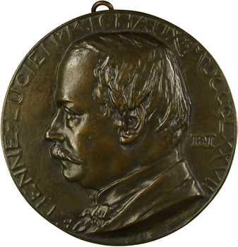 Daniel-Dupuis (J.-B.) : Etienne Lucien Michaux, fonte, 1877