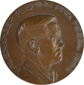 Médecine, Alexander Fleming découvreur de la pénicilline, par Baron, 1945 Paris