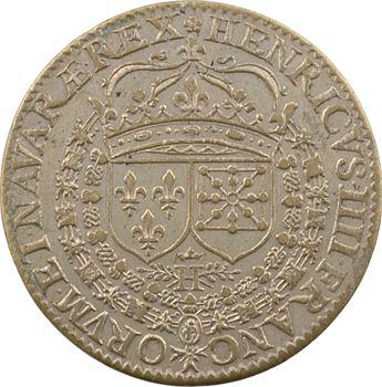 Blois, Henri IV, jeton de la chambre des comptes, s.d