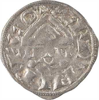 Saint-Claude (ville de), denier au temple, anonyme, s.d. (XIIe-XIIIe s.)