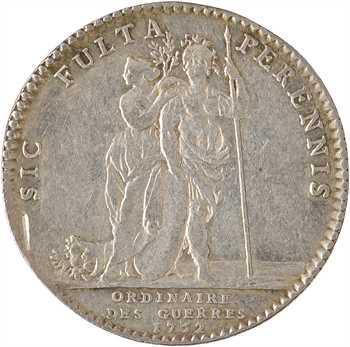 Louis XV, Ordinaire des guerres, 1752 Paris