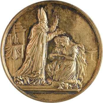 IIIe République, mariage d'Octave Roger de Sivry et Suzanne de Montesquieu, par Depaulis, 1886 Paris
