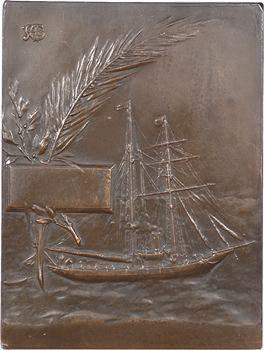 Aubé (P.) : la Brise (offert par Albert Glandaz), s.d. Paris