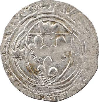 Louis XII-François Ier, blanc, faux d'époque inspiré de Châlons-en-Champagne, après 1541