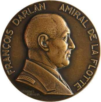 Guiraud (G.) : François Darlan, amiral de la flotte, grand module, s.d. Paris