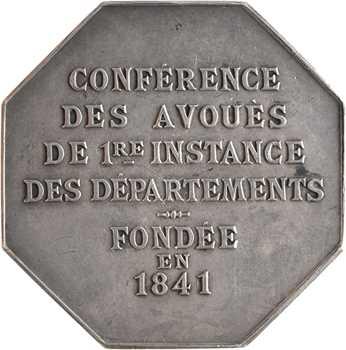 Magdelaine (F.) : Conférence des Avoués de Ière Instance, 1891 Paris