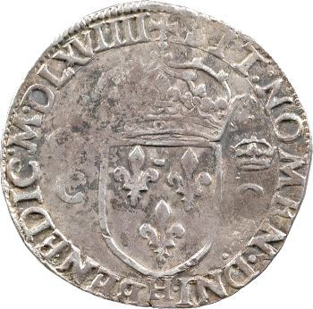Charles IX, teston 2e type, 1569 La Rochelle