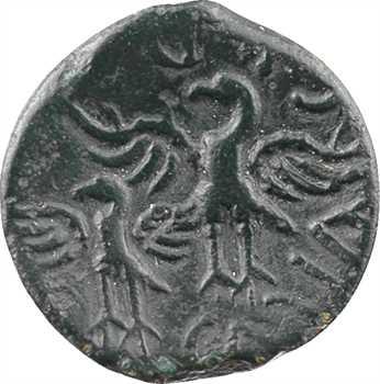 Bituriges [ou Carnutes ?], bronze à l'aigle CALIAGIID, classe III, c.60-40 av. J.-C