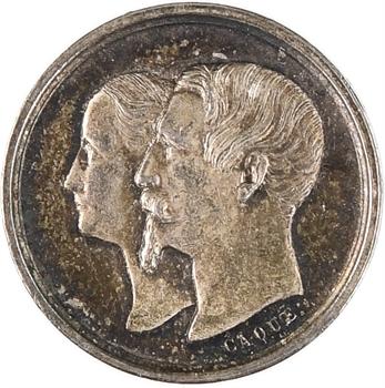 Second Empire, naissance du Prince impérial, 1856 Paris