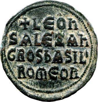 Léon VI et Alexandre, follis, Constantinople, 886-912