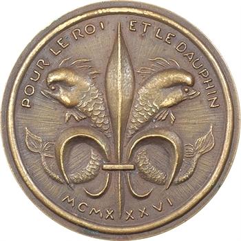 Jean d'Orléans, Pour le Roi [Jean III] et le Dauphin [Henri VI], par A. Rivaud, 1936 Paris