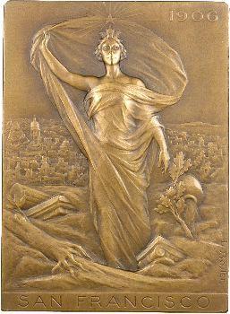 Exposition universelle de San Francisco, canal de Panama, 1915 par Louis Bottée