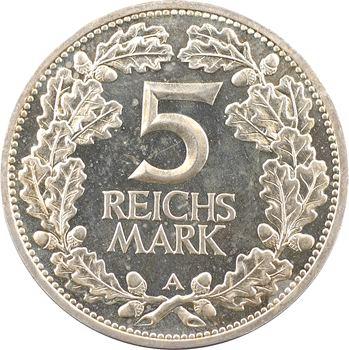 Allemagne (Empire d'), 5 reichsmark, 1925 Berlin PROOF
