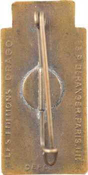 IIe Guerre Mondiale, insigne, les Chantiers de la Jeunesse Française (CJF), s.d. Paris (Drago)