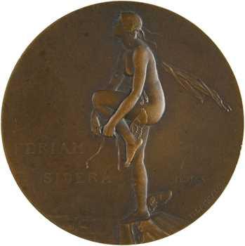 Dammann (P.-M.) : Feriam Sidera, coupe Military Zenith, 1930 Paris