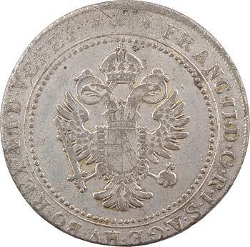 Italie, Venise (province vénitienne d'Autriche), François II, 1 lire et 1/2, 1802 Vienne