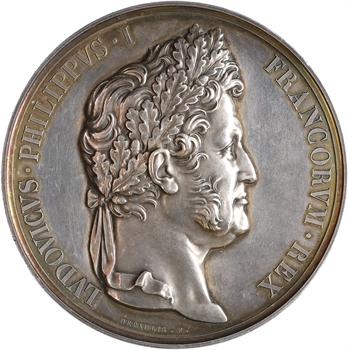 Louis-Philippe Ier, avènement du Roi, en argent, 1830 Paris