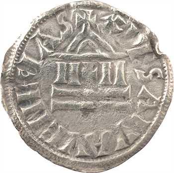 (Louis II) ou frappe anonyme de Venise, denier, s.d. (c.855-875) Venise