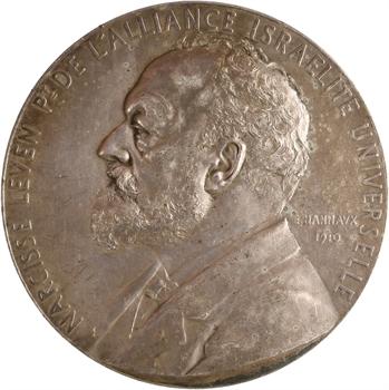 Hannaux (E.) : Narcisse Leven et l'Alliance israélite universelle par E. Hannaux, 1910 Paris