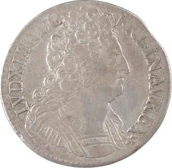 Monnayage de Strasbourg, Louis XIV, pièce de 44 sols, 1713 Paris