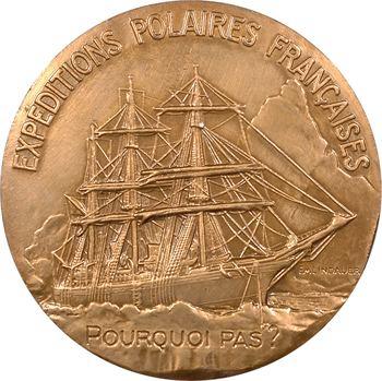 IIIe République, Exploration polaire, Jean Charcot et le Pourquoi pas ?, par Richer et Lindauer, s.d. (postérieure) Paris