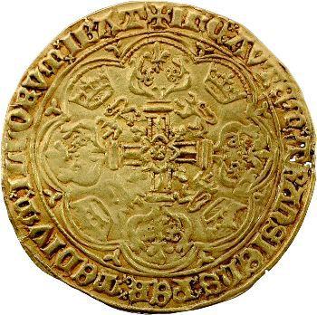 Flandres (comté de), Philippe-le-Bon, noble d'or, 5e émission