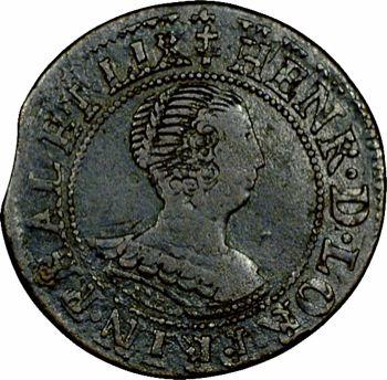 Pflasbourg-Lixheim (principauté de), Henriette, Double tournois, 1633 Lixheim