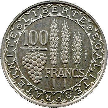 IVe République, essai de 100 francs Bazor, 1950
